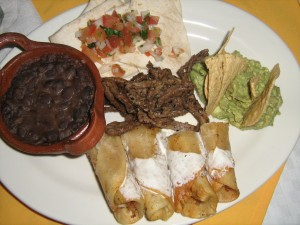 Mexican plate