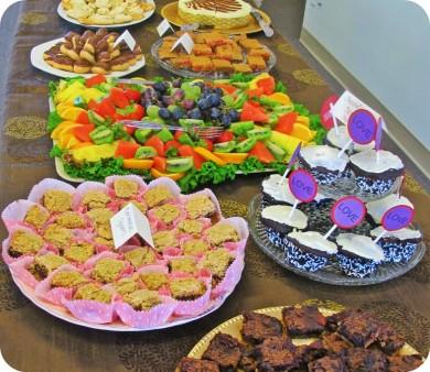 Tableful of Desserts