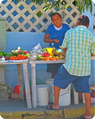 Isla Produce Seller