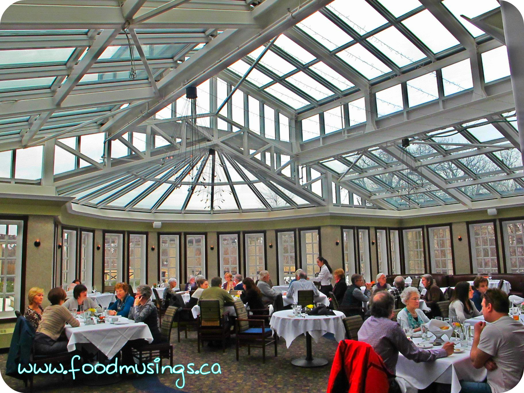 Easter lunch at terrace in the park food musings for Terrace on the park restaurant