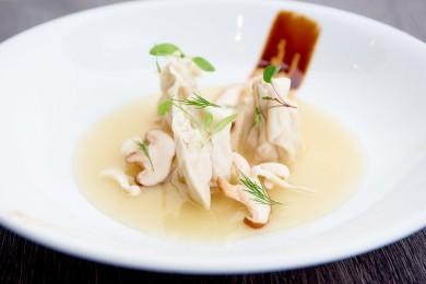 Jumbo Shrimp Wonton Soup